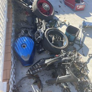 Lot Of Motorcycle Parts Still Good for Sale in Garden Grove, CA