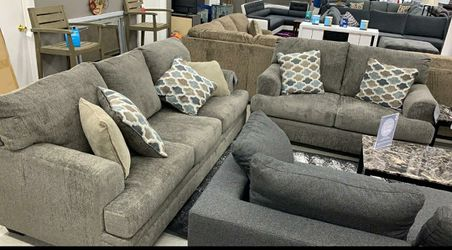 💐Ashley Sofa loveseat living room set Only $54 Down same day delivery for Sale in Houston,  TX