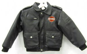 Harley Davidson Leather Motorcycle Jacket Size 7 for Sale in Cicero, IL