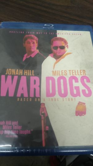 Blu-ray DVD war dogs for Sale in Gilroy, CA