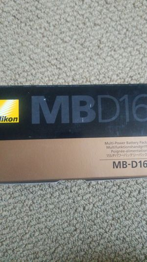 Nikon mb d16 for Sale in Oakland, CA