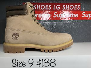Timberland Limited Edition waterproof upper color (bone) for Sale in Grand Prairie, TX