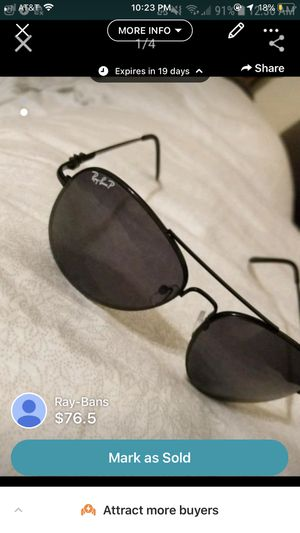 Ray-Ban sunglasses for Sale in Tyler, TX