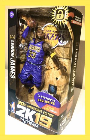 Lebron James Lakers Figure rare variant exclusive NBA McFarlane Toys for Sale in Cerritos, CA