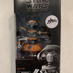 DJ R-3X Black Series Figure *MINT* Star Wars Galaxy's Edge Trading Post R3X Rex Target Exclusive E9625 Disney Hasbro for Sale in Lewisville, TX