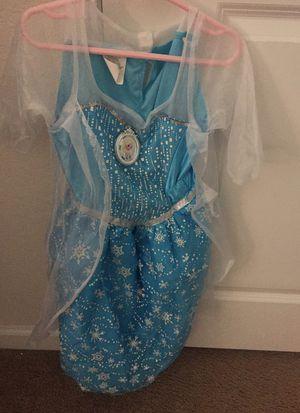 Halloween Elsa dress costume 4-6 for Sale in Windermere, FL