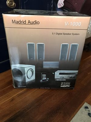 Madrid Audio Digital Speaker System for Sale in Uniondale, NY