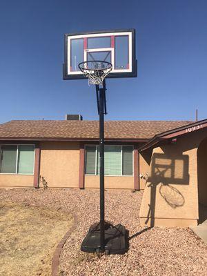 Lifetime adjustable basketball hoop for Sale in Avondale, AZ