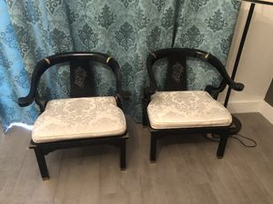Pair of Ming Chair - Antiques $350 for Sale in Coral Springs, FL