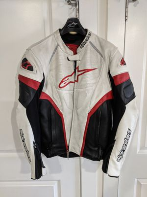 Alpinestars GP Plus R perforated leather jacket size 44 for Sale in Norfolk, VA