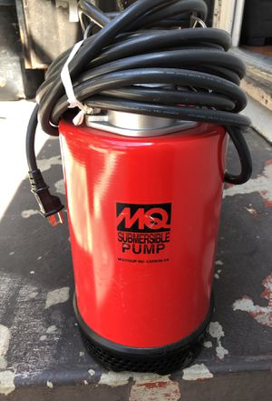 Tool MQ submersible Pump for Sale in Los Angeles, CA