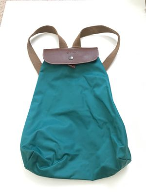 Longchamp purse, turquoise, backpack style for Sale in Davidson, NC