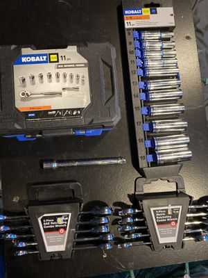 "Kobalt 3/8"" metric sockets and ratcheting combo wrenches for Sale in Federal Way, WA"