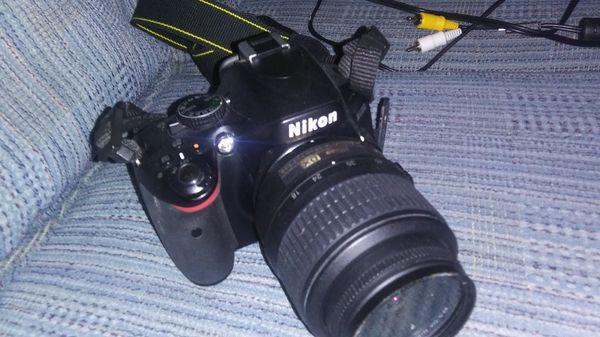 Nikon D5100 w/Nikon DX Af-s Nikkor 18-55 mm 1:3.5-5.6 G lens