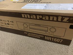 Marantz NR1607 7.2 Channel Network AV Receiver for Sale in Los Angeles, CA