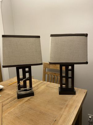 2 MATCHING LAMPS for Sale in North Olmsted, OH
