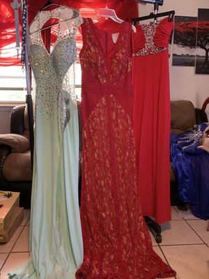 Brand new beautiful prom or wedding dresses ranging from size 0, 6,8,and 10 for Sale in Copperas Cove, TX