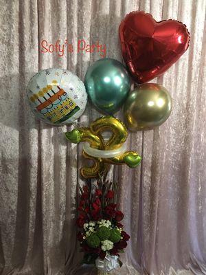 Bouquets de flores con Sofy's Party for Sale in Santa Clara, CA