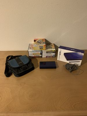 Pre-owned Nintendo DS lite(Blue) Bundle for Sale in Temecula, CA