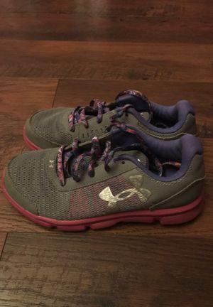 Under Amor girl shoes size 3 for Sale in Riverside, CA