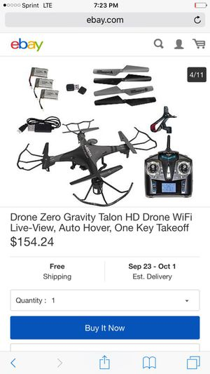 Comparable to phantom 3 drone for Sale in West Valley City, UT