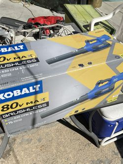 Kolbalt 80v Max Leaf Blower for Sale in Las Vegas,  NV