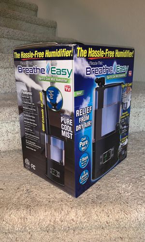 Breathe Easy Humidifier Ultra Cool Mist for Sale in Mission Viejo, CA
