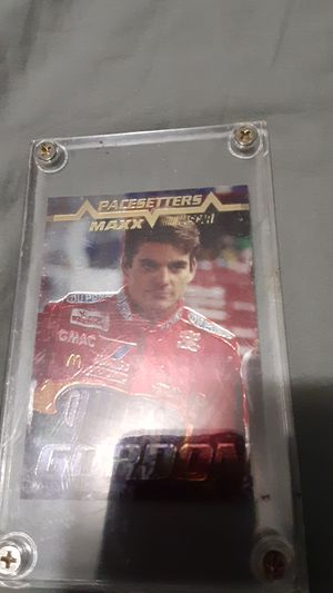 Jeff Gordon pacesetters Maxx nascar card rookie for Sale in Katy, TX