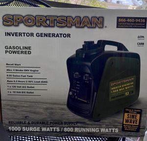 Sportsman Generator 1000w for Sale in Clearwater, FL