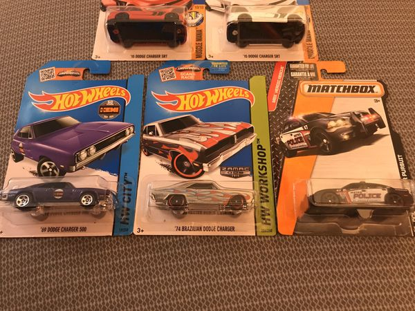 Hot Wheels/Matchbox Dodge Charger lot