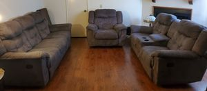 Sofa Set (recliner) for Sale in Glendale, CA