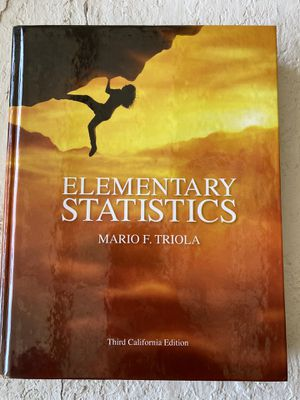 Elementary Statistics for Sale in Chino, CA