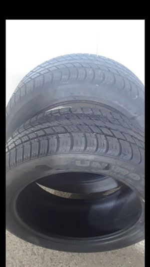 2 Tires lots 225/50R17 tread Tiger Paw Uniroyal for Sale in Fairfax, VA
