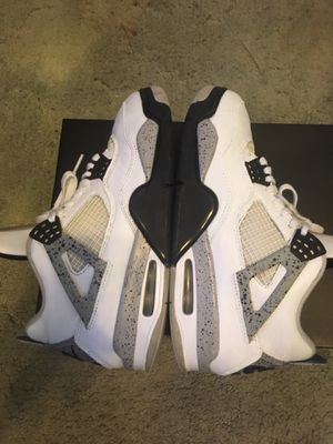 Jordan white cement 4s for Sale in Vancouver, WA