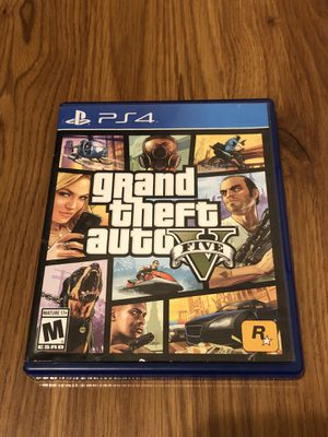 GTA V PS4 - Excellent condition for Sale in Clovis, CA