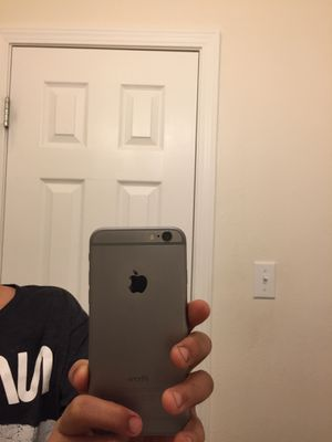 iphone 6 unlocked few scratches and logo scratched for Sale in FT LEONARD WD, MO