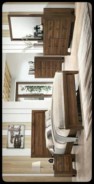 ✔Hot Deal SET✔ Millie Cherry Brown Panel Bedroom Set for Sale in Hyattsville, MD
