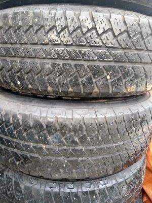5 Bridgestone/Dueler tires. P255/70R18. 5lug for Sale in Tampa, FL