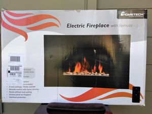 HomeTech Electric Fire wall mount for Sale in Atwater, CA