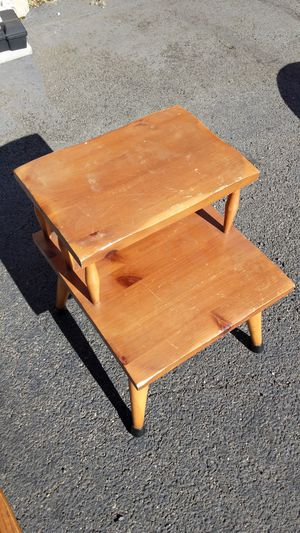 Wooden two tier side table. for Sale in Alexandria, VA