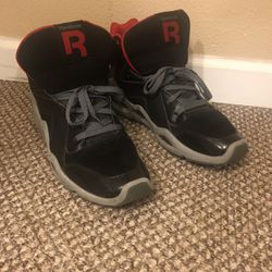 Reebok Kamikaze 3 High Top Leather Trainers Black/Red/Grey J82831 US 10.5 for Sale in Seattle,  WA