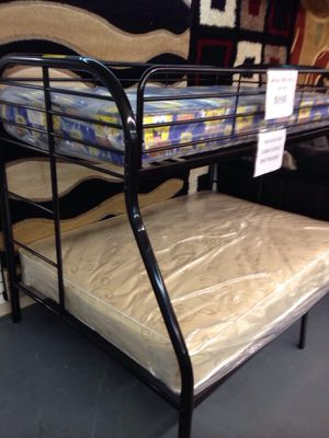 Bunk bed twin full with mattress for Sale in Philadelphia, PA