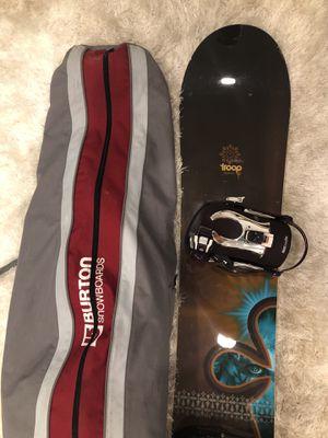 Burton Snowboard W/ Bag for Sale in Philadelphia, PA
