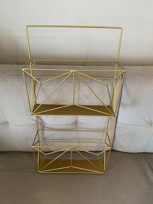 "Gold Wall Decor Shelves 25"" height for Sale in Spring, TX"