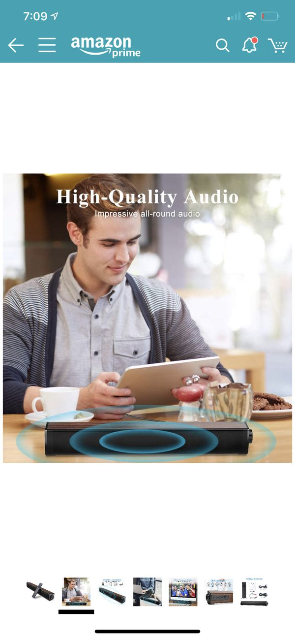 Portable Sound bar Bluetooth with remote control