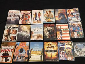 18 DVDs $20 for all. for Sale in Midland, TX