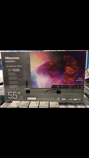 55 INCH HISENSE H9 QUANTUM DOT 4K SMART TV 📺 for Sale in Chino, CA