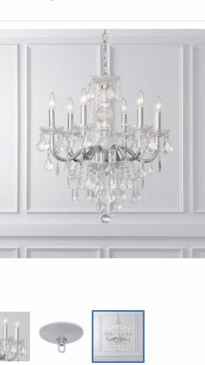 Crystal chandelier for Sale in Portland, OR