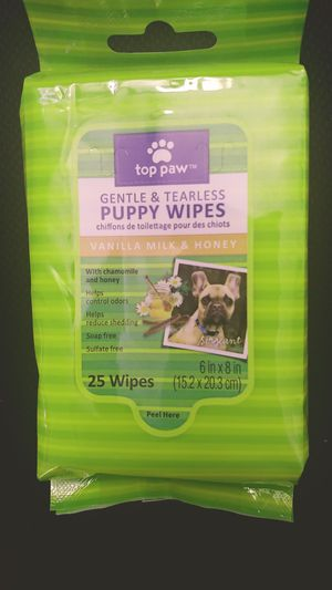 Top Paw Puppy Wipes 3 pack for Sale in Phoenix, AZ