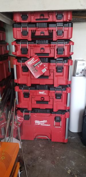 Milwaukee new tool boxes for Sale in South Gate, CA